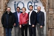 Foto/IPP/Gioia Botteghi 22/03/2018 Roma,  Presentazione del film IO C  E, nella foto: ALESSANDRO ARONADIO regia,  EDOARDO LEO  MARGHERITA BUY GIUSEPPE BATTISTON MASSIMILIANO BRUNO  Italy Photo Press - World Copyright