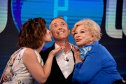 Foto/IPP/Gioia Botteghi Roma 03/07/2019 trasmissione tv rai uno IO E TE, nella foto : Pierluigi Diaco con Sandra Milo e Valeria Graci Italy Photo Press - World Copyright