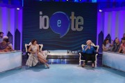 Foto/IPP/Gioia Botteghi Roma 03/07/2019 trasmissione tv rai uno IO E TE, nella foto : Sandra Milo e Valeria Graci Italy Photo Press - World Copyright