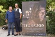 Foto/IPP/Gioia Botteghi Roma 18/09/2019 Presentazione della fiction di SKY  IO LEONARDO, nella foto Luca Argentero, Francesco Pannofino,  Italy Photo Press - World Copyright