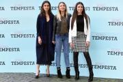 Foto/Gioia Botteghi 05/04/2018 Roma, presentazione del film Io sono tempesta, nella foto: Simonetta Columbu, Klea Marku, Sara Deghdak  Italy Photo Press - World Copyright