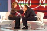 Gioia Botteghi/OMEGA 21/10/05 Jane Fonda ospite a Domenica in con Baudo