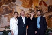 Conferenza stampa del film Karl ( un uomo diventato Papa)nelle foto:Piotr Adamczyk il protagonista , Rul Bova, Violante Placido, Malgorzata Bela,