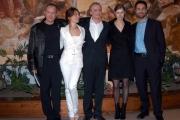 Conferenza stampa del film Karl ( un uomo diventato Papa)nelle foto:Piotr Adamczyk il protagonista , Rul Bova, Violante Placido, Malgorzata Bela, Hristo Shopov