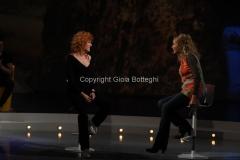 10/03/2013 Roma Trasmissione Alle falde del Kilimangiaro, raitre, ospite di Licia Colò Fiorella Mannoia