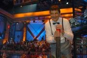 29/06/08 roma registrazione del programma dell'estate presentato da Fabrizio Frizzi _ la botola_ in onda tutti i giorni dopo il telegiornale fino a settembre