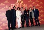 Foto/IPP/Gioia Botteghi Roma17/12/2019 Presentazione del film La Dea fortuna, nella foto Cast e produzione Italy Photo Press - World Copyright