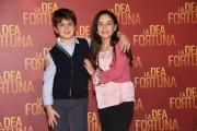 Foto/IPP/Gioia Botteghi Roma17/12/2019 Presentazione del film La Dea fortuna, nella foto Edoardo Brandi e Sara Ciocca Italy Photo Press - World Copyright
