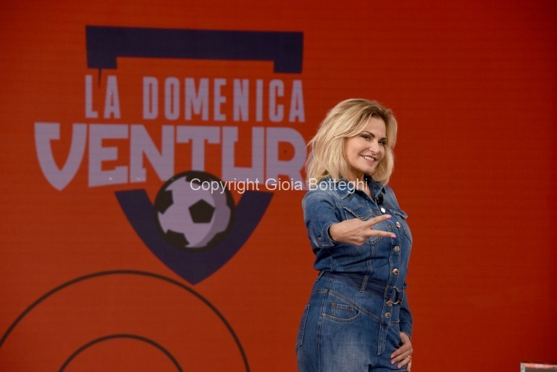 Foto/IPP/Gioia Botteghi Roma 15/09/2019 Puntata di La domenica Ventura, con Simona Ventura Italy Photo Press - World Copyright