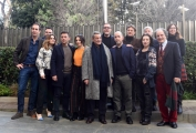 "Foto/IPP/Gioia Botteghi 04/01/2018 Roma, presentazione rai della fiction "" La linea verticale"" in onda su rai Play e rai tre, nella foto il cast Italy Photo Press - World Copyright"