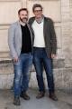 Foto/IPP/Gioia Botteghi16/04/2018 Roma, Presentazione della fiction LA MAFIA UCCIDE SOLO D-ESTATE 2, nella foto: Pif con il regista Luca Ribuoli Italy Photo Press - World Copyright