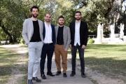 Foto/IPP/Gioia Botteghi Roma27/02/2019 presentazione del film La notte è piccola per noi, nella foto Gli Stag