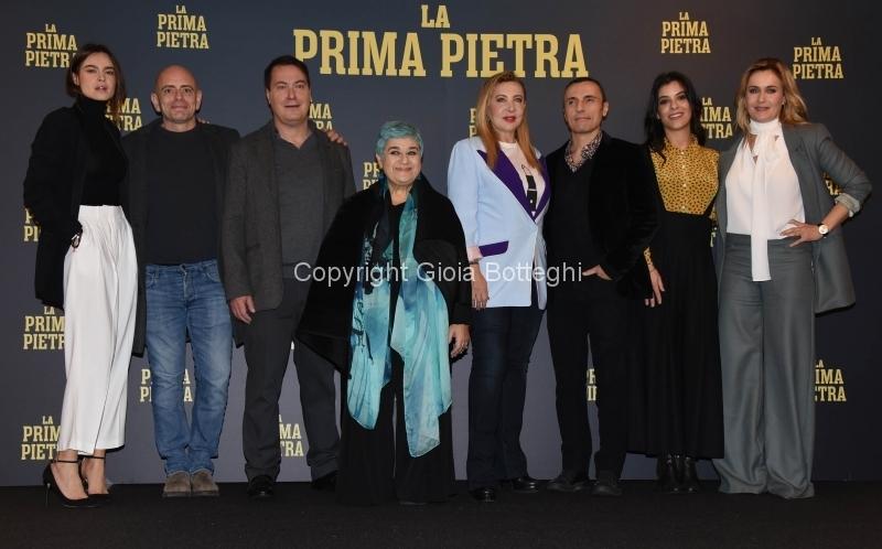 """Foto/IPP/Gioia Botteghi Roma03/12/2018 Presentazione del film """"La prima pietra"""" nella foto: il cast Italy Photo Press - World Copyright"""