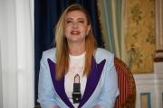 """Foto/IPP/Gioia Botteghi Roma03/12/2018 Presentazione del film """"La prima pietra"""" nella foto: Iaia Forte Italy Photo Press - World Copyright"""