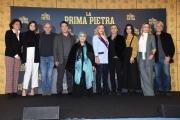 """Foto/IPP/Gioia Botteghi Roma03/12/2018 Presentazione del film """"La prima pietra"""" nella foto: il cast con il produttore Domenico Procacci Italy Photo Press - World Copyright"""