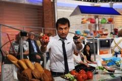 08/09/2014 Roma Prima puntata de LA PROVA DEL CUOCO, con Antonella Clerici con lei Marco Di Buono