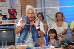 08/09/2014 Roma Prima puntata de LA PROVA DEL CUOCO, con Antonella Clerici con lei il cuoco Andrea Mainardi