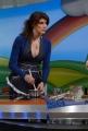 13/1/09 Roma Trasmissione di raiuno LA PROVA DEL CUOCO nella foto la nuova conduttrice che ha preso il posto di Antonella Clerici: Elisa Isoardi