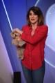 Foto/IPP/Gioia Botteghi Roma05/12/2019 Puntata della trasmissione di rai uno La prova del cuoco con Elisa Isoardi con il suo cane Zenitt in studio Italy Photo Press - World Copyright