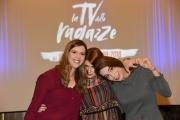Foto/IPP/Gioia Botteghi Roma05/11/2018  Presentazione del programma di rai tre La tv delle ragazze, nella foto: Le Sbratz ( Serena Tateo, Laura Grimaldi, Guia Scognamiglio) Italy Photo Press - World Copyright