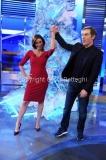 15/12/2014 Roma studio Natalizio de La vita in diretta con Marco Liorni e Cristina Parodi