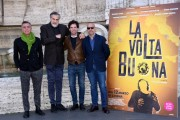 Foto/IPP/Gioia Botteghi Roma 04/03/2020 Presentazione del film La volta buona, nella foto: Vincenzo Marra e gli interpreti Massimo Ghini, Max Tortora, Francesco Montanari Italy Photo Press - World Copyright