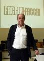 Foto/IPP/Gioia Botteghi 03/11/2016 Roma Giovanni Minoli conduce per La7 la nuova trasmissione Faccia a faccia da domenica 6 novembre