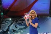 Roma 12/12/09 Prima puntata della trasmissione condotta da Lorella Landi su raiuno il sabato,