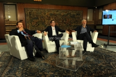 17/06/2014 Roma LE CONVERSAZIONI, Francesco Piccolo, Giuliano Ferrara ed il moderatore Antonio Monda
