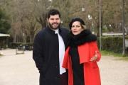 Foto/IPP/Gioia Botteghi Roma 05/03/2019 Presentazione del film L'eroe, nella foto: Salvatore Esposito Cristina Donadio Italy Photo Press - World Copyright