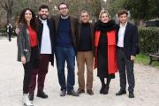 Foto/IPP/Gioia Botteghi Roma 05/03/2019 Presentazione del film L'eroe, nella foto: il regiata Cristiano Anania con il cast Italy Photo Press - World Copyright