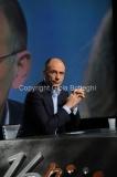 Roma23/06/2013 Enrico Letta ospite di Lucia Annunzia nella trasmissione in mezz'ora