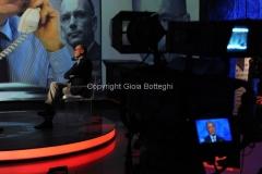 10/11/2013 Roma Letta a Domenica in intervistato da Massimo Giletti