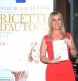 16/06/2015 Roma presentazione del libro ERI, Ricette D'Autore , nella foto L'autrice Federica De Denaro