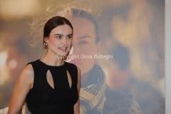 30/11/2015 Roma presentazione dellafiction di rai uno LIMBO, nella foto Kasia Smutniak