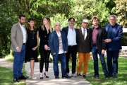 Foto/IPP/Gioia Botteghi Roma 08/05/2019 Photocall del film Mo vi mento, lira di Achille , nella foto:  il cast Italy Photo Press - World Copyright