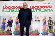 Foto/IPP/Gioia Botteghi Roma 12/10/2020 Photocall del film Lockdown all'italiana, nella foto: Enrico Vanzina Italy Photo Press - World Copyright