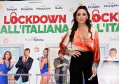 Foto/IPP/Gioia Botteghi Roma 12/10/2020 Photocall del film Lockdown all'italiana, nella foto: Maria Luisa Jacobelli Italy Photo Press - World Copyright