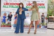 Foto/IPP/Gioia Botteghi Roma 12/10/2020 Photocall del film Lockdown all'italiana, nella foto: Martina Stella, Paola Minaccioni Italy Photo Press - World Copyright