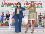 Foto/IPP/Gioia Botteghi Roma 12/10/2020 Photocall del film Lockdown all'italiana, nella foto: Martina Stella, Paola Minaccioni Italy Photo Press - World Copyright