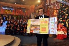 06/01/2016 Roma serata Lotteria de' Affari tuoi, nella foto: Flavio Insinna