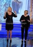 06/01/2015 Roma la prova del cuoco puntata della lotteria Italia, nella foto: Antonella Clerici e Anna Moroni