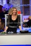 06/01/2015 Roma la prova del cuoco puntata della lotteria Italia, nella foto: Lorella Cuccarini