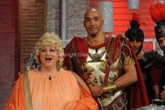 06/01/2015 Roma la prova del cuoco puntata della lotteria Italia, nella foto: Amaurys Perez