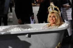 06/01/2015 Roma la prova del cuoco puntata della lotteria Italia, nella foto: Antonella Clerici
