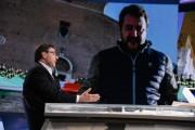 Foto/IPP/Gioia Botteghi Roma 19/01/2020 Trasmissione mezz'ora in più, Lucia Annunziata intervista Giancarlo Giorgetti Italy Photo Press - World Copyright
