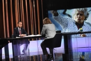 """Foto/IPP/Gioia Botteghi 06/05/2018 Roma, Luigi Di Maio ospite della trasmissione di Lucia Annunziata """" Mezz'ora in più""""  Italy Photo Press - World Copyright"""