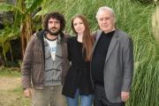 Foto/IPP/Gioia Botteghi 08/01/2018 Roma, il nuovo programma di Michele Santoro per rai tre M, nella foto Sara Rosati e Andrea Rivera Italy Photo Press - World Copyright