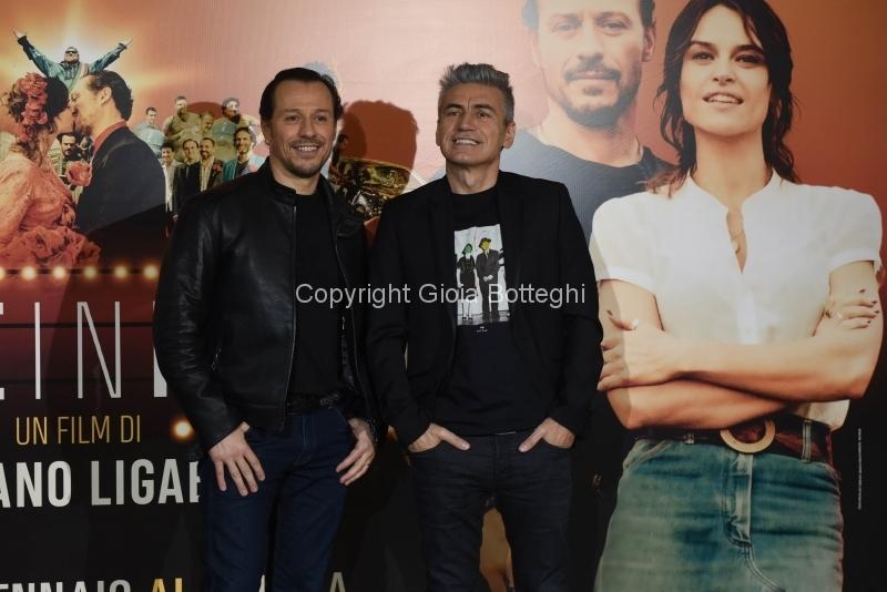 Foto/IPP/Gioia Botteghi 22/01/2018 Roma, presentazione del film MADE IN ITALY, nella foto: STEFANO ACCORSI e LUCIANO LIGABUE Italy Photo Press - World Copyright