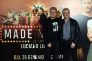 Foto/IPP/Gioia Botteghi 22/01/2018 Roma, presentazione del film MADE IN ITALY, nella foto: LUCIANO LIGABUE, DOMENICO PROCACCI Italy Photo Press - World Copyright